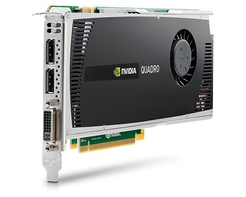 NVIDIA Quadro 4000 2GB PCI-E 3 Port GDDR5 1x DVI 2x DP