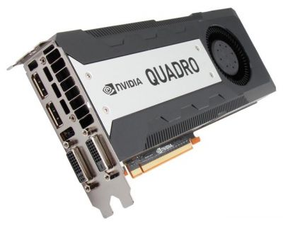 NVIDIA Quadro K6000 12GB PCI-E 3 Port GDDR5 2x DVI 2x DP