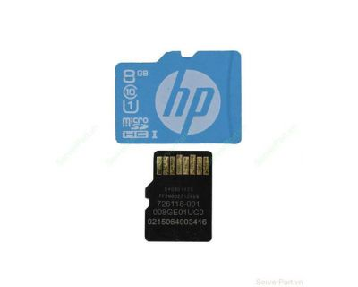 HP 8GB microSD Flash Memory Card 726116-B21