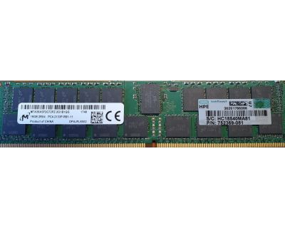 HPE 16GB RAM DDR4-2133P ECC Registered P/N: 752369-081