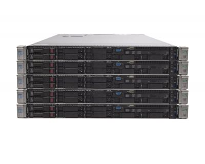 5x HP DL360 G9 / 2x E5-2620v3 2.4GHz 6 Core / 16GB DDR4 / P440
