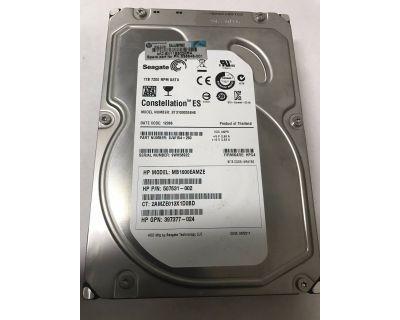 HP 1TB 7200rpm SATA 3Gb/s LFF (3,5 inch) ST31000524NS
