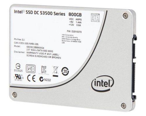 Intel SSD DC S3610 800GB SATA 6Gb/s SFF (2,5 inch)