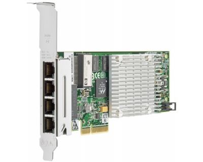 HP NC375T PCI Express Quad Port Gigabit Server Adapter Full Size