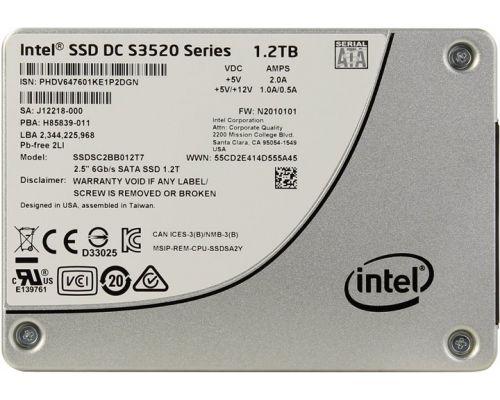 Intel SSD DC S3520 1.2TB SATA 6Gb/s SFF (2,5 inch) SSDSC2BB012T701