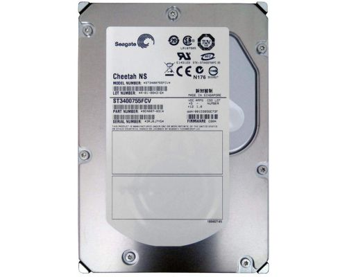 4x Seagate Cheetah NS 400GB 10K 4Gb Fibre Channel HDD P/N: ST3400755FCV