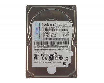 IBM 600GB 10K SAS 6Gb/s SFF (2,5 inch) P/N: 49Y2031