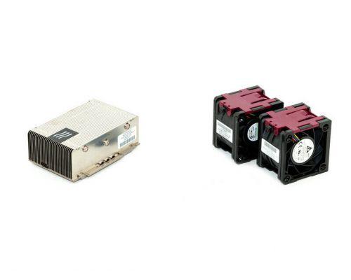 HP Heatsink Kit voor DL380P Gen8 662522-001 & 2 Fans 654577-001