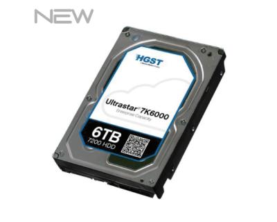 HGST Ultrastar He6 6TB 7.2K SATA 6Gb/s LFF NEW HUS726060ALE610