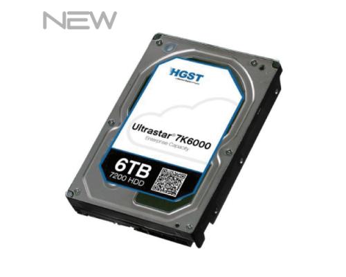 HGST Ultrastar He6 6TB 7.2K SATA 6Gb/s LFF NIEUW P/N: 0F18335