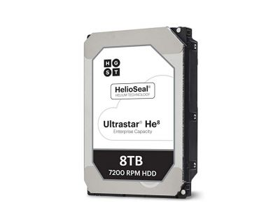 HGST Ultrastar He8 8TB 7.2K SAS 12G NIEUW. P/N: 0F23268