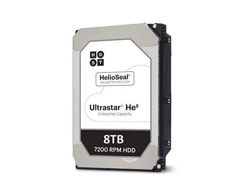 HGST Ultrastar He8 8TB 7.2K SATA 6G Refurb. P/N: 0F23763