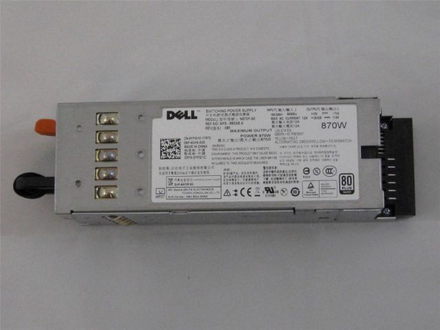 Dell 870W Power Supply for PowerEdge R710 P/N: YFG1C - DELL Power Supply -  Creo Server