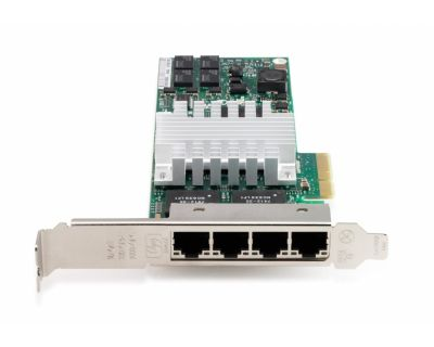 HP NC365T PCI Express Quad Port Gigabit Server Adapter Full Size