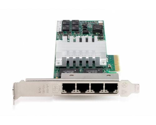 HP NC365T PCI Express Quad Port Gigabit Server Adapter Full Size