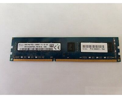 HP 8GB RAM DDR4-2400T ECC Registered P/N: 809079-581