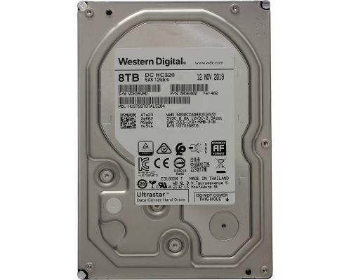 WD Ultrastar DC HC320 8TB 7.2K SAS 12G NIEUW P/N: 0B36400