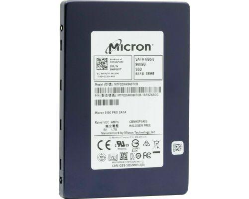DELL Enterprise 960GB 2.5 SSD SATA 6G P/N: 0M9Y79
