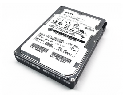 HGST 600GB 15K SAS 12Gb/s SFF (2,5 inch)  P/N: 0B28953 NIEUW