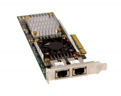 Dell Broadcom 57810s 2x 10Gbit RJ45 PCI-e X8 LP P/N: 0HN10N