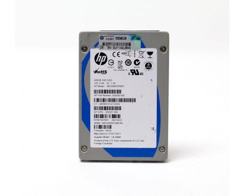 "HP 400GB SSD SAS 6Gb/s 2,5"" MO0400FBRWC P/N: 632430-002"