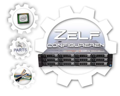 Zelf samenstellen Dell PowerEdge R730XD LFF Generation 13