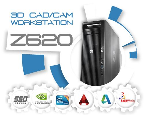 HP Z620 3D CAD/CAM Systeem