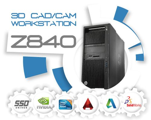 HP Z840 3D CAD/CAM Systeem