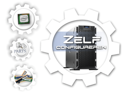 Zelf samenstellen Dell PowerEdge T630 SFF Generation 13