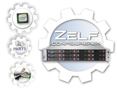 Zelf samenstellen HP Proliant DL380 Generation 9