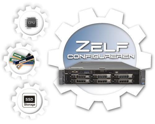 Zelf samenstellen Dell PowerEdge R710 LFF