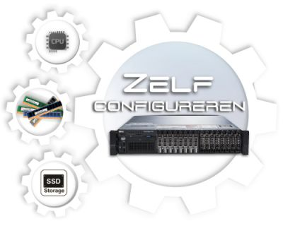 Zelf samenstellen Dell PowerEdge R820 SFF Generation 12