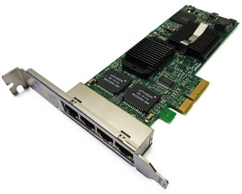Intel Pro/1000 PT PCI Express Quad Port Gigabit Server Adapter Full Size