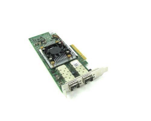 Dell Broadcom 57810s 2x 10Gbit SFP+ PCI-e X8 LP P/N: Y40PH