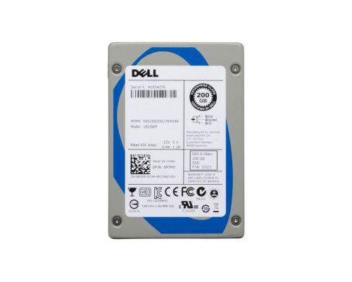 """Dell 200GB SSD SAS 6Gb/s 2,5"""" LB206M P/N: 6R5R8"""