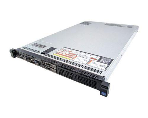 Dell R620 / 2x E5-2680v2 2,8GHz 20C 40TH / 64GB RAM / H310