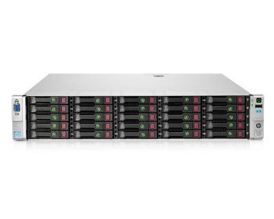 HP DL380P G8 / 2x E5-2680v2 2,8GHz 10 Core / 128GB
