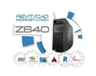 HP Z640 / 2x E5-2667v3 3.2GHz 16 Core / 64GB DDR4 / P2000 / SSD M2 256GB