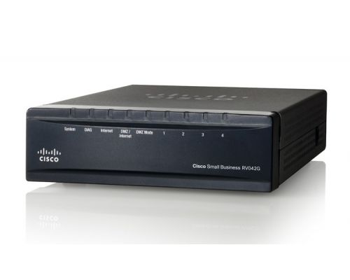 Cisco RV042G Dual Gigabit WAN VPN Router NEW