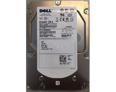 Dell 146GB 15.000prm SAS 3Gb/s LFF (3,5 inch)