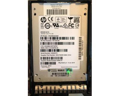 HP 480GB SSD SATA 6Gb/s SFF (2,5 inch) P/N: 792368-001