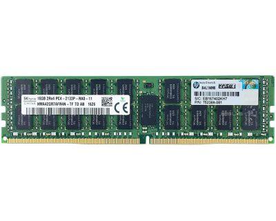 HP 16GB PC4-17000P-R DDR4-2133P ECC Reg P/N: 752369-081
