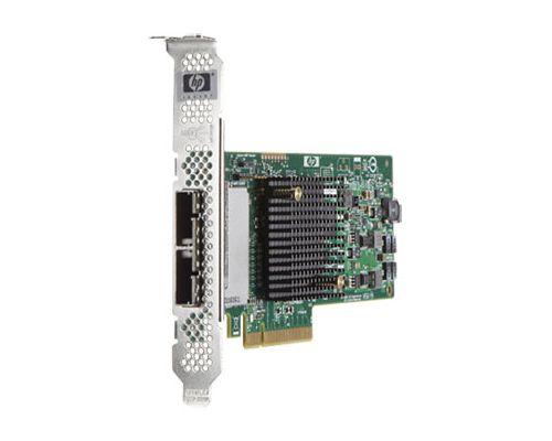HP H221 6GB/S 8-SAS PORTS PCI-E 2.0 X8 HBA P/N: 638836-001