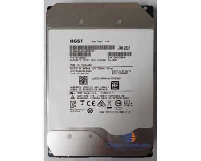 """HGST Ultrastar He12 12TB 7.2K 3.5"""" SATA 6Gb/s P/N:0F29592 NIEUW"""