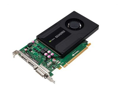 NVIDIA Quadro K2200 4GB PCI-E 3 Port GDDR5 1x DVI 2x DP