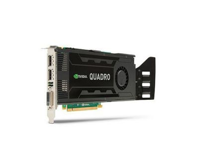NVIDIA Quadro K4200 4GB PCI-E 2x16 Port GDDR5 1x DVI 2x DP