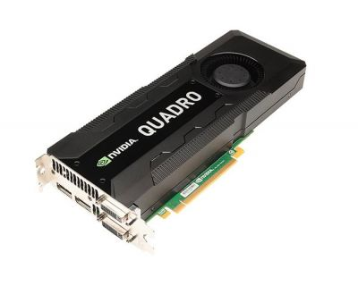 NVIDIA Quadro K5000 4GB PCI-E 3 Port GDDR5 2x DVI 2x DP