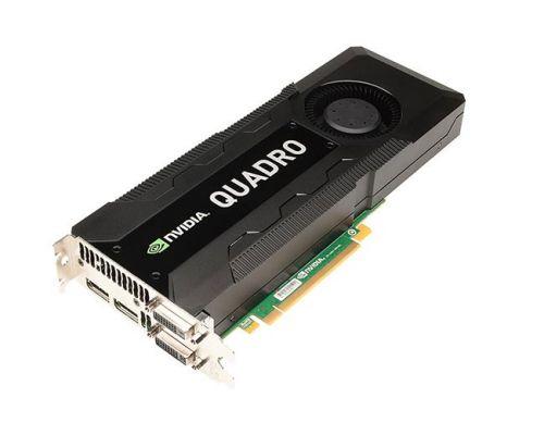 NVIDIA Quadro K5000 4GB PCI-E 3 Port GDDR5 2x DVI 2x DP