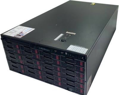 HP ML350 G9 24x LFF / 2x E5-2620v3 2,4GHz 6 Core / 128GB RAM / 3x H240AR