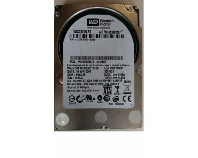 WD 300GB 10.000rpm SATA 3Gb/s SFF (2,5 inch)